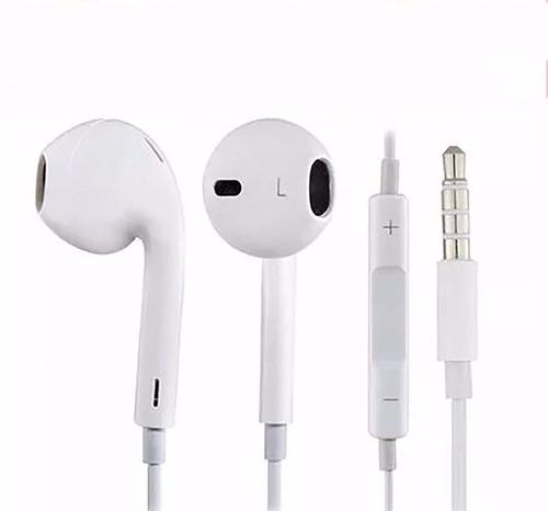audifono para iphone con control volumen y microfono