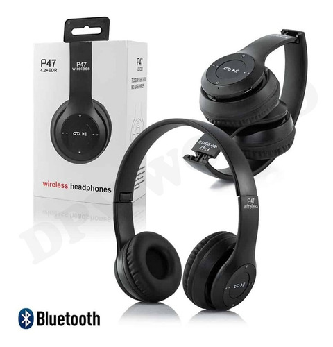 audifono pc zoom p47 videollamadas clases bluetooth 3.5mm
