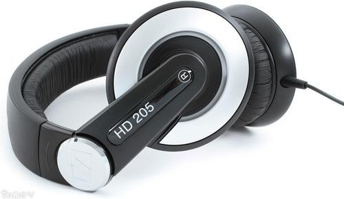 audífono profesional sennheiser dj hd205 (original)