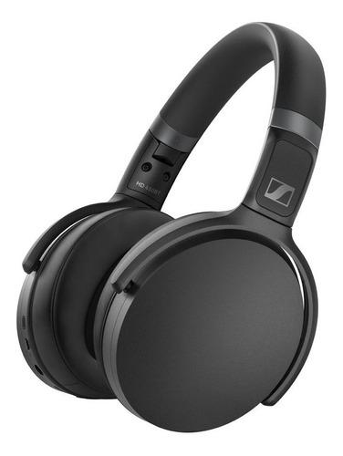 audífono sennheiser bluetooth 5.0 hasta 30 hrs negro hd 450
