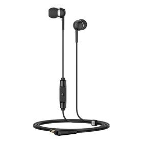 Audífono Sennheiser Cx 80s 3.5mm Aislamiento Ambiental Negro