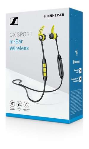 audifono sennheiser cx sport - bluetooth