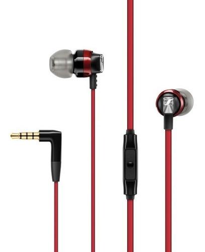 audifono sennheiser cx300s rojo in ear con microfono