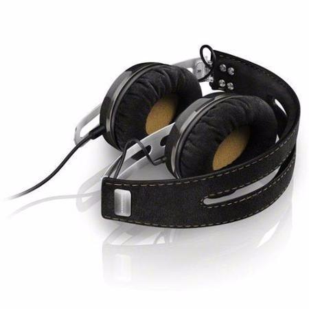 audifono sennheiser momentum on ear 2i black ( apple ios  )