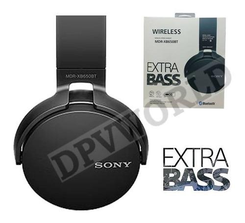 audifono sony 650bt bluetooth headset manos libres extra bas