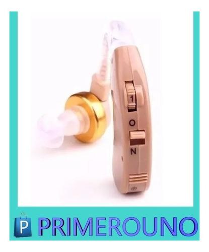 audifono sordera alta media leve p/ sordo c/ volumen + pilas
