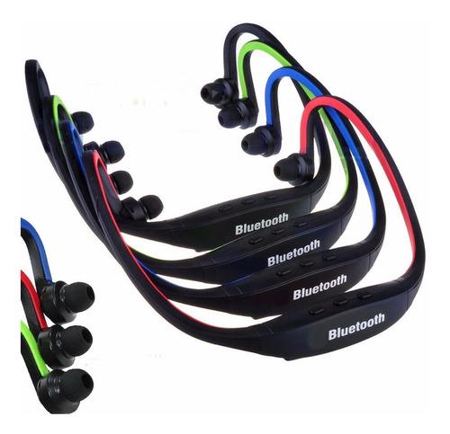 audífono sport bluetooth s9 manos libres negro - cargador