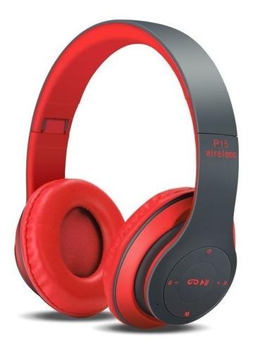 audifono wireless headphones p15 inalambrico auxiliar blueto