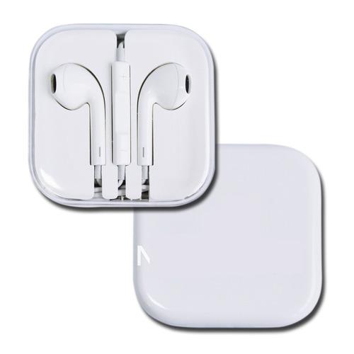 audífono y manos libre earpods iphone 5 apple new