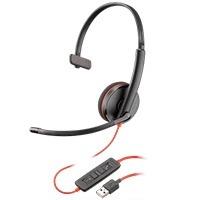 audifono y mic de diadema plantronics blackwire c3210 alambr