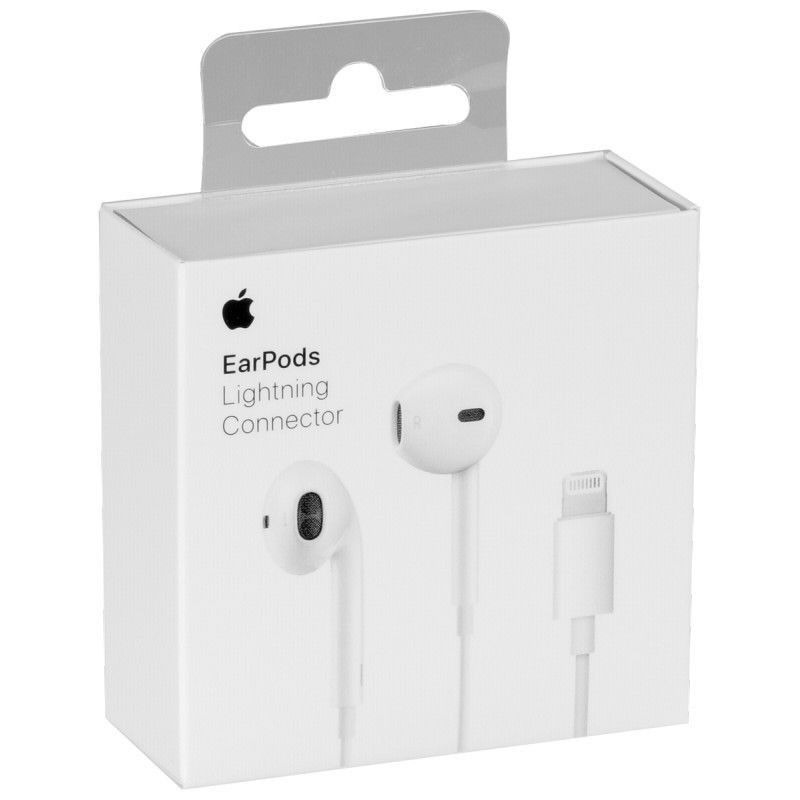 68231936b6d audifonos 100% originales earpods lightning iphone 7 8 x xs. Cargando zoom.