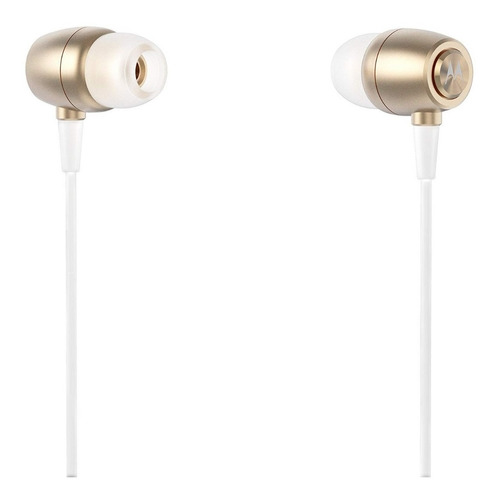 audifonos 3.5 con microfono  motorola earbuds metal