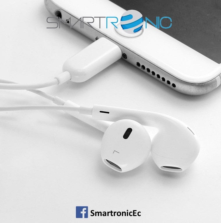 110b7729c3a Audifonos Aaa Earpods Lightning iPhone 7, 7+, 8, 8+, X - U$S 24,99 en  Mercado Libre