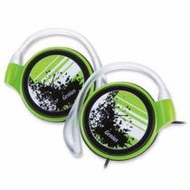 Audífonos Genius Verdes Ultra Slim De Lujo