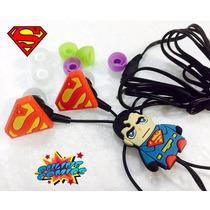 Super Heroes Dc - Audifonos Universales De Superman