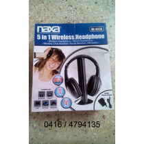 Audifonos Inalambricos Naxa 5 En 1 Headphone Wireless