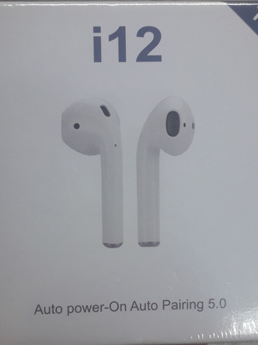 audífonos airpods i12 tws touch tactil bluetooth 5.0 stereo