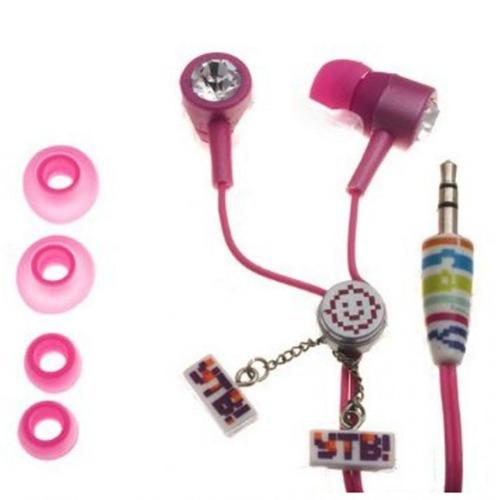 audifonos ajustable i carly ihip icf10152pk - rosado
