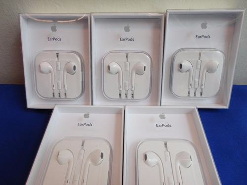 audifonos apple earpods originales  iphone 5 5s 4s 6 6s ipad