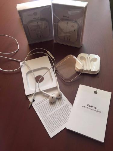audifonos apple earpods para iphone 5,5s,6,6s se original