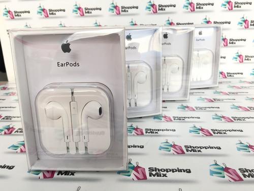 audifonos apple iphone earpods originales en caja envio free