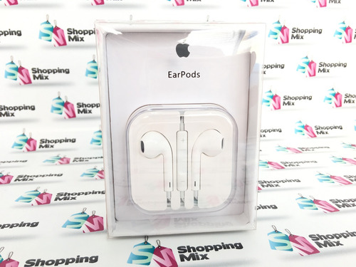 audifonos apple iphone earpods originales en caja envio free