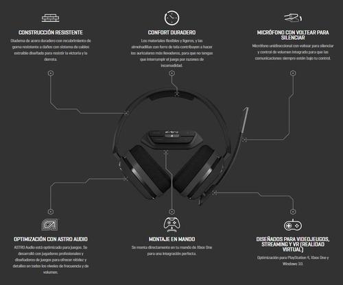 audífonos astro a10 + mixamp m60 nuevos y sellados