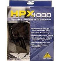 Audifonos Profesionales Para Dj Behringer Hpx4000