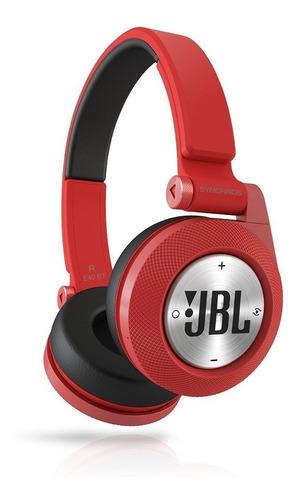 audífonos auriculares jbl e40bt bluetooth rojos