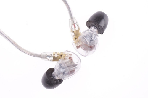 audifonos auriculares shure se535-cl clear para in ear