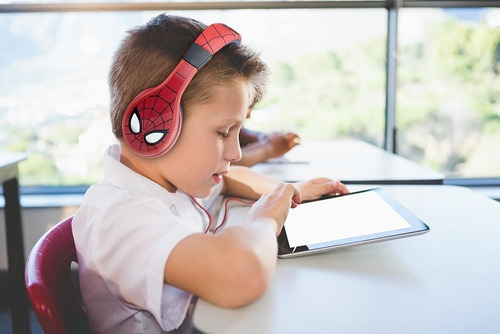 audifonos aurriculares spiderman niños envio gratis