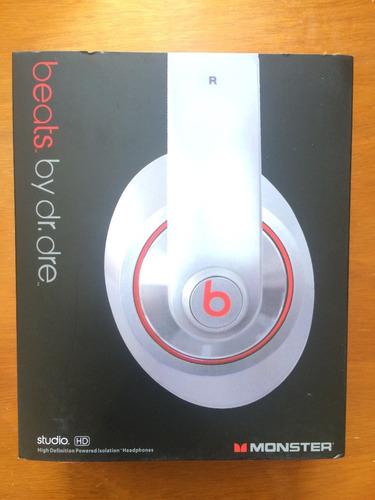 audífonos beats by dre studio hd  plata excelente calidad