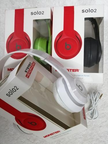 audifonos beats solo 2 monster beats cable extraible, tienda