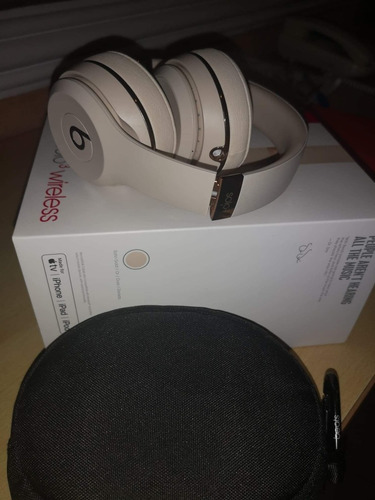 audifonos beats solo 3 wireles (satin gold )