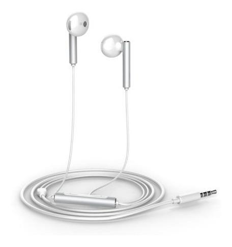 audífonos blanco metal huawei am116 manos libres - mobilehut