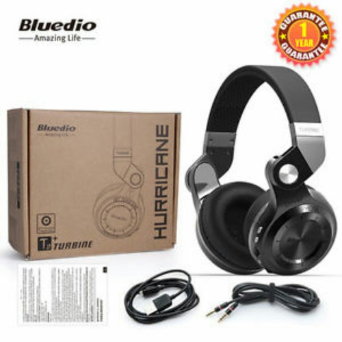 audifonos bluedio t2 hurricane turbine bluetooth 4.1