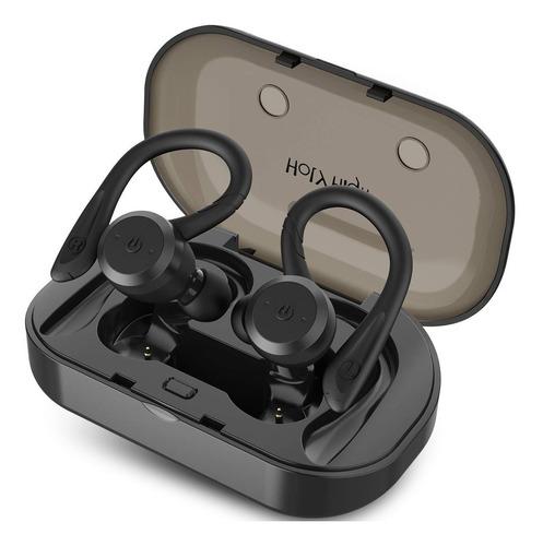 audifonos bluetooth 5.0 deportes base carga manos libres
