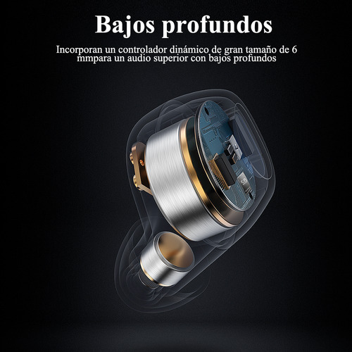 audífonos bluetooth 5.0 in-ear langsdom t20 auriculares ina
