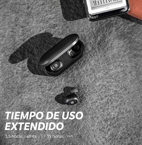 audífonos bluetooth 5.0 soundpeats truefree plus 35 horas ba