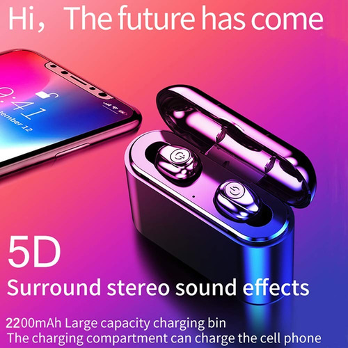 audifonos bluetooth 5.0 wireless 5d stereo
