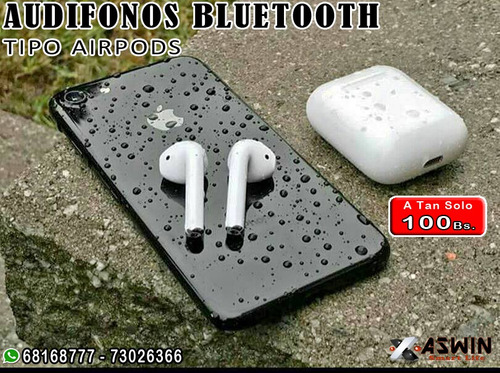 audifonos bluetooth binaurales tipo earpods