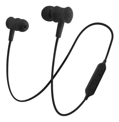 audífonos bluetooth bt-100 negro maxell- entrega inmediata.