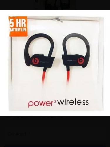 audifonos bluetooth deportivos power 3 wireless oem