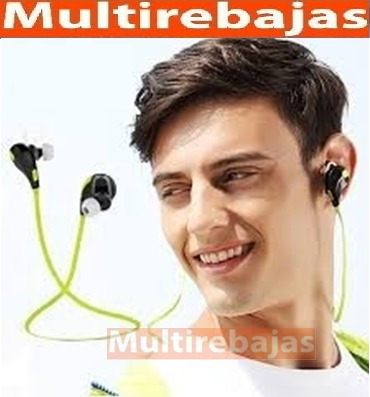 audifonos bluetooth deportivos stereo qy7 samsung iphone