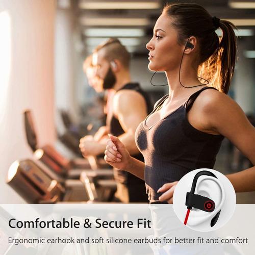 audifonos bluetooth estereo deportivos resistentes agua ipx7