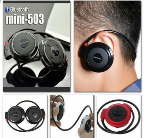 audifonos bluetooth headphones wireless mini-503