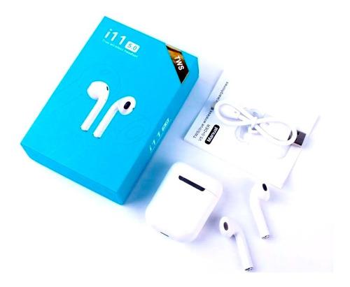 audífonos bluetooth i11 tws 5.0 tip airpods estuche sellados