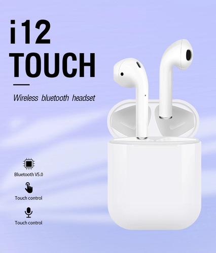 audifonos bluetooth i12 tws