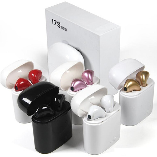 audifonos bluetooth i7s tws cargador portátil apple android