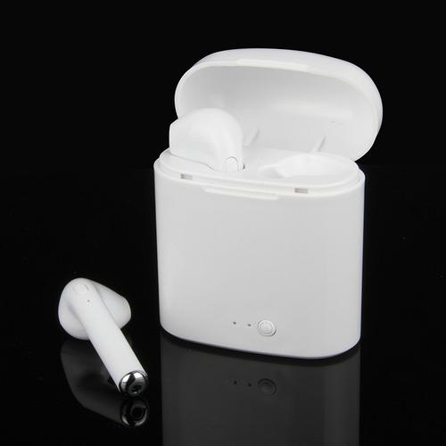 audífonos bluetooth i7s tws mas cargador portatil
